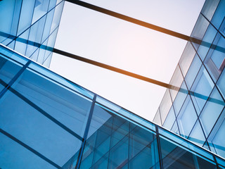 Architecture detail Glass Facade Modern Building Abstract Background Fototapete