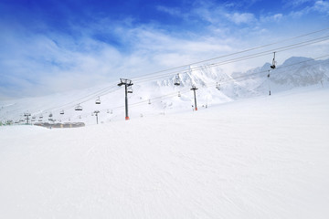 Pas de la Casa ski resort of Andorra Wall mural