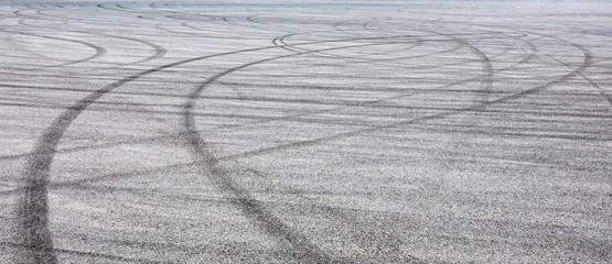 Acrylic Prints F1 Car track asphalt pavement background at the circuit