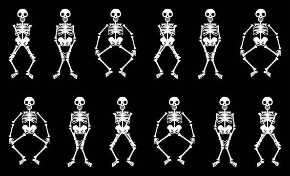 Skeletons dacning Boogie Woogie