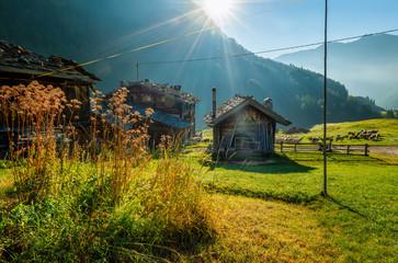 Bauernhof im Schnalstal