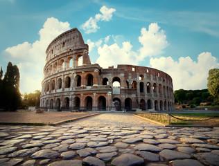 Fond de hotte en verre imprimé Rome Colosseum in Rome
