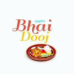 indian festival of Happy Bhai Dooj Celebration.
