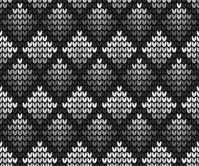 Seamless squares black background