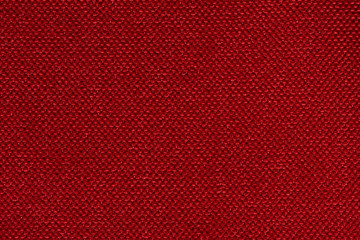 Passionate red fabric background for your interior.
