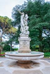 Fotobehang Fontaine Fontaine d'Hélios et Séléna