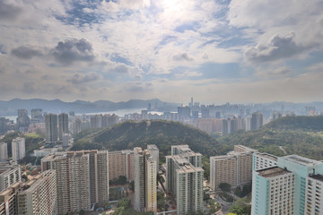 a Kowloon Skyline Viewing Point at east
