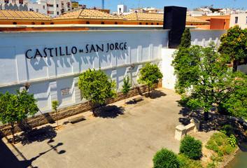 Castillo de San Jorge en Triana, Sevilla, España