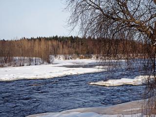 river in Karelia