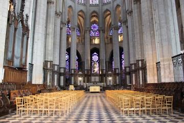 Cathédrale de Beauvais - intérieur 2