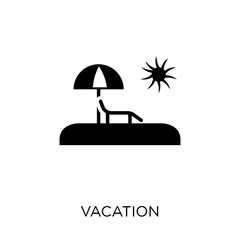 Vacation icon. Vacation symbol design from Architecture collection.