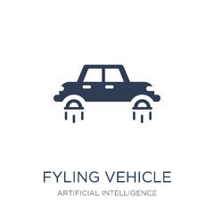 fyling Vehicle icon. Trendy flat vector fyling Vehicle icon on w