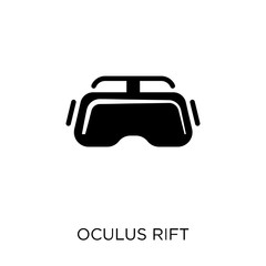 Oculus rift icon. Oculus rift symbol design from Future technology collection. Simple element vector illustration. Can be used in web and mobile.