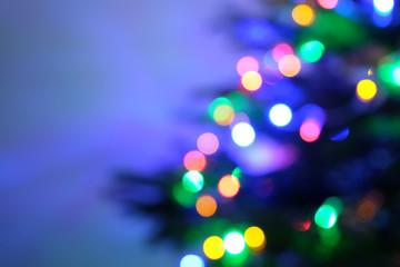 holiday bokeh. Abstract Christmas background