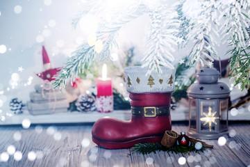 Hintergrund Weihnachten Karte