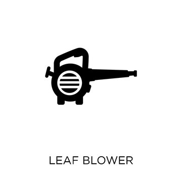 leaf blower icon. leaf blower symbol design from Electronic devices collection. Simple element vector illustration. Can be used in web and mobile.
