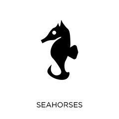 Seahorses icon. Seahorses symbol design from Fairy tale collection.