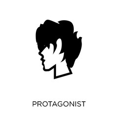 protagonist icon. protagonist symbol design from Fairy tale collection.