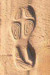 Schuhabdruck im Sand II