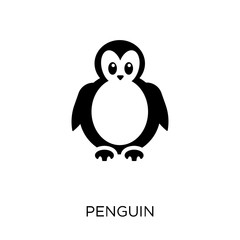 Penguin icon. Penguin symbol design from Animals collection.