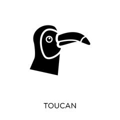 Toucan icon. Toucan symbol design from Animals collection.