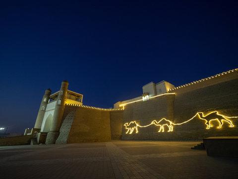 ウズベキスタンのブハラにてArk城
