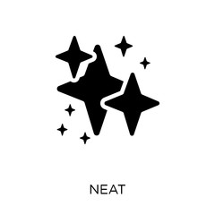 neat icon. neat symbol design from Cleaning collection.