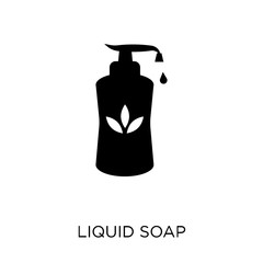 Liquid soap icon. Liquid soap symbol design from Hygiene collection.