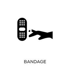 Bandage icon. Bandage symbol design from Hygiene collection.