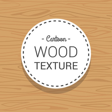 vector cartoon wood repeatable texture background illustration template