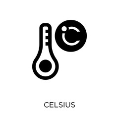 Celsius icon. Celsius symbol design from Weather collection.