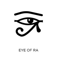 Eye of ra icon. Eye of ra symbol design from Religion collection.