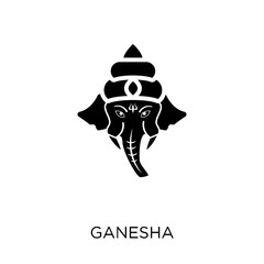 Ganesha icon. Ganesha symbol design from Religion collection.