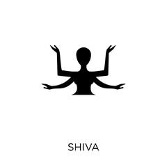 Shiva icon. Shiva symbol design from Religion collection.