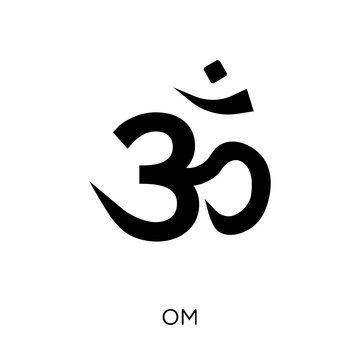 Om icon. Om symbol design from Religion collection.