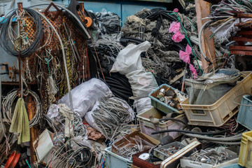 社会問題/ あふれるゴミ / ゴミ屋敷のイメージ