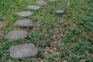 飛石 / 日本の庭のイメージ