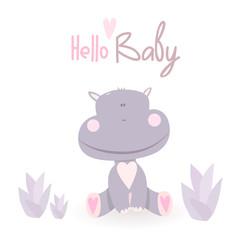 Hello baby poster