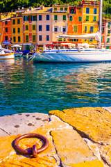 Colours of Portofino. Portofino, Italy.