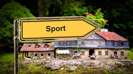 Schild 369 - Sport