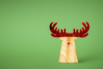 Christmas decoration with a reindeer