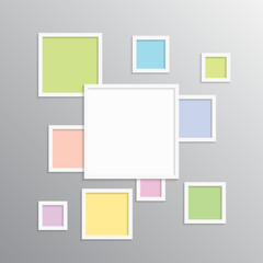 The Frame for Photo, Picture, Photo Collage.