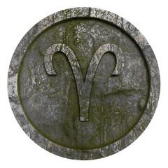 Horoscope sign Aries Illustration