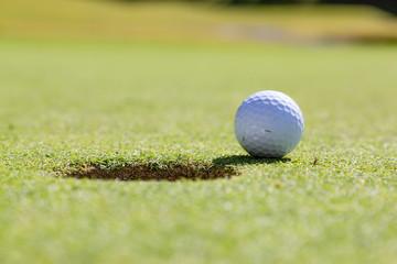 新緑のゴルフ場