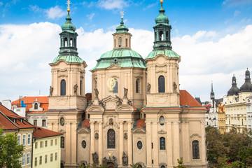 Church St. Nicolas in Prague, Czech Republic.