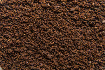 ground coffee background texture
