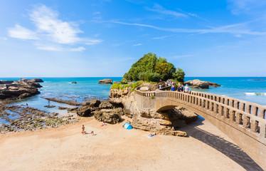 rocher du Basta, Biarritz, Pyrénées-Atlantiques, France