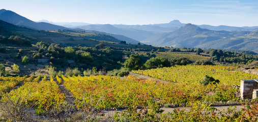 Landschaft in den Pyrenäen in Frankreich