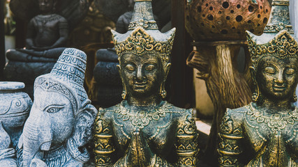 symbols and deities of buddhism in asia.