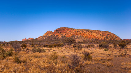 Rock formations in MacDonnell National Park, Northern Territory, Australia